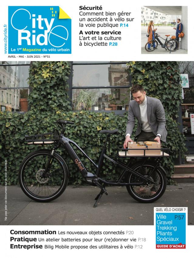 En savoir plus sur le Magazine City-Ride avec Véligo-Transilien